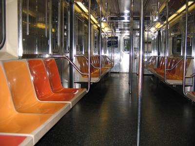 Empty NYC Train