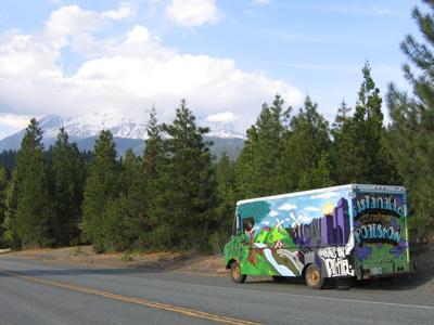 Mt. Shasta and Wonder Truck