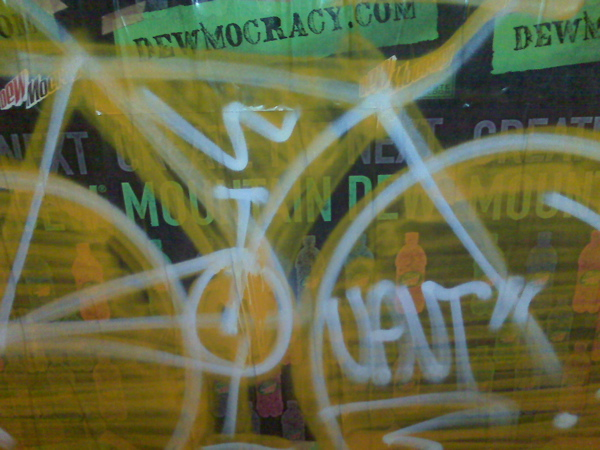 Jaut Bike Graffiti