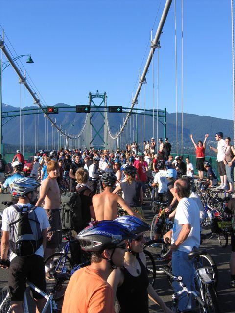 June 2008 Vancouver Critical Mass