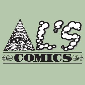 Al's Comics Money Logo