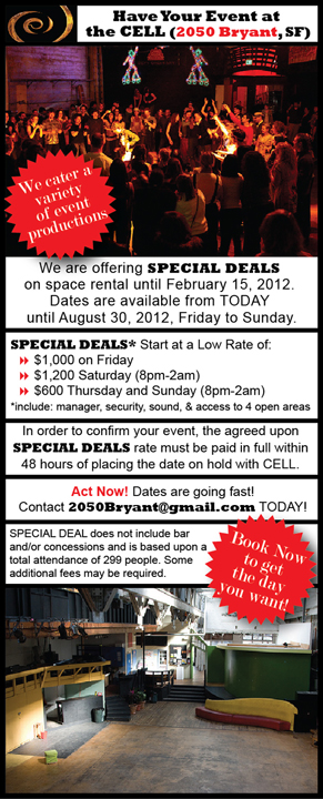 Special Deals at CELL